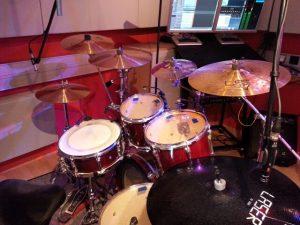 Mikrofonierung der Drums