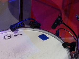Mikrofonierung der Snare